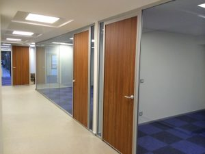 Prosel Vitrum partition wall system