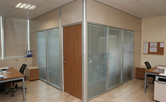 Silence partition wall system 1