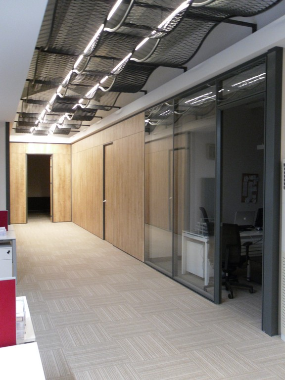 Silence partition wall system 13