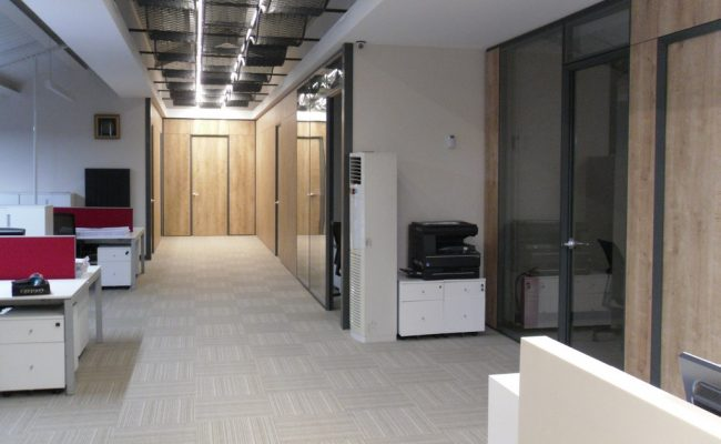 Silence partition wall system 14