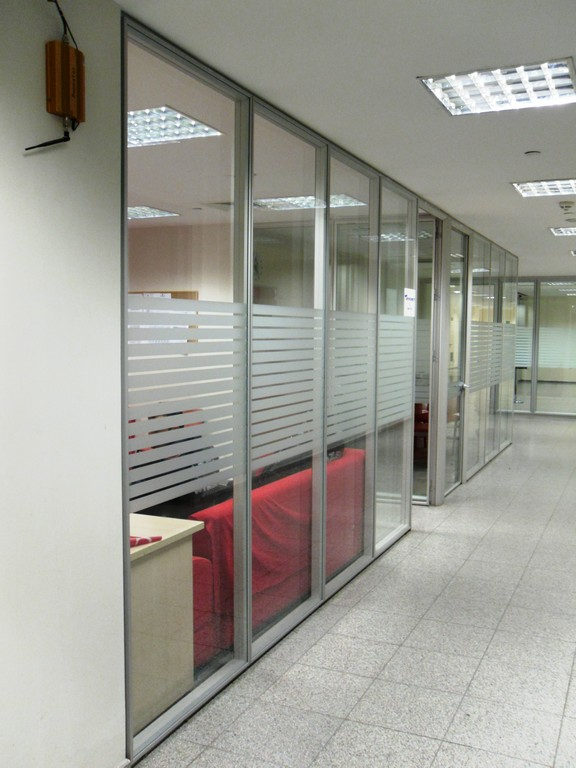 Silence partition wall system 19
