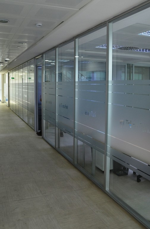 Silence partition wall system 3
