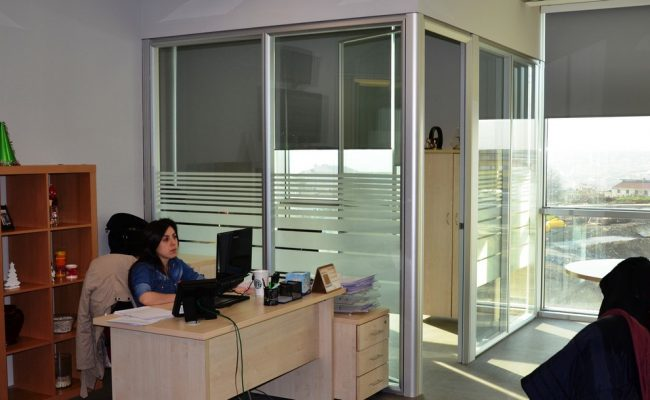 Silence partition wall system 6