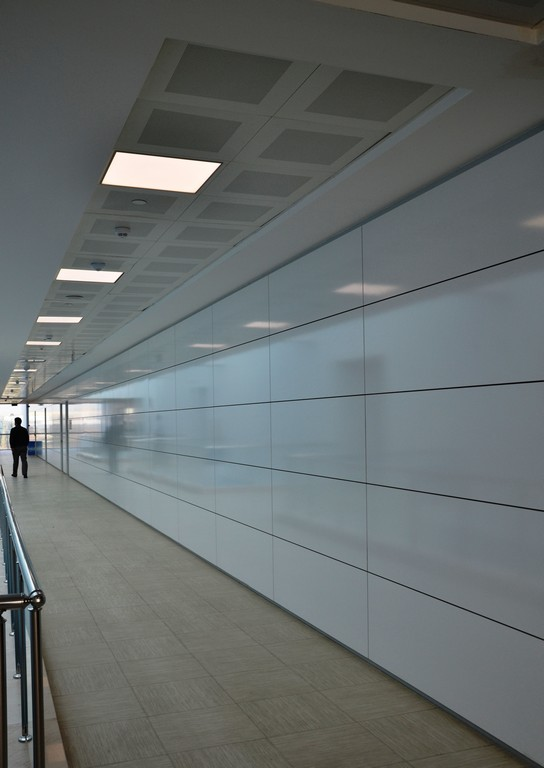 Silence partition wall system 8