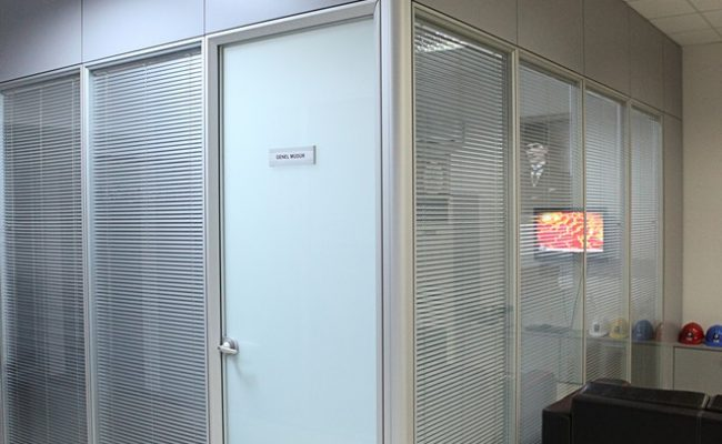 Silence partition wall system 9