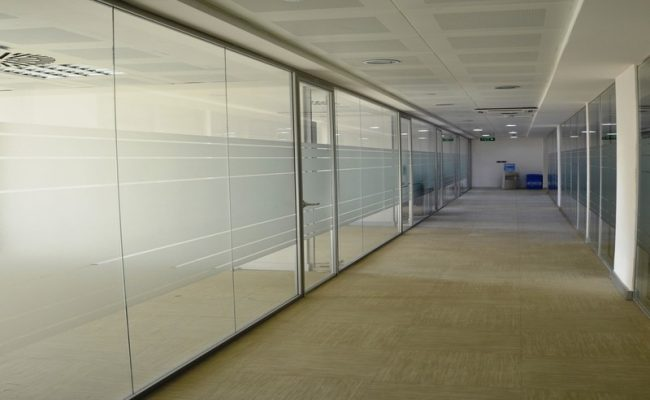 infinity partition wall system 12