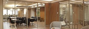 partition glass wall - prosel metal