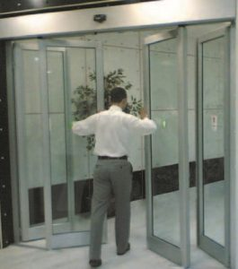 prosel anti-panic automatic sliding door