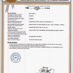 turkish standard certificate