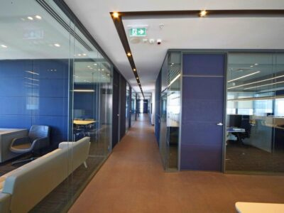 PROSEL VITRUM DUO partition wall system